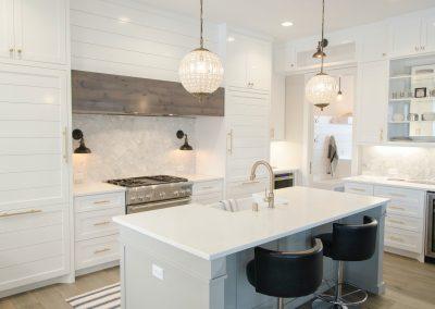 Ottawa homes white kitchen